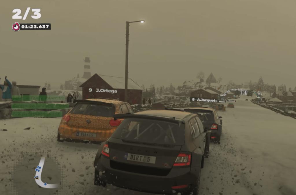 DiRT 5 racing game ps4